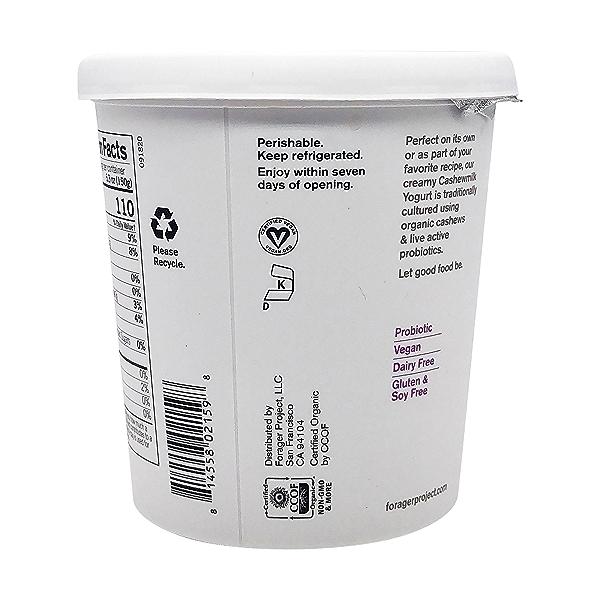 Organic Unsweetened Vanilla Bean Cashewmilk Yogurt, 24 oz 6