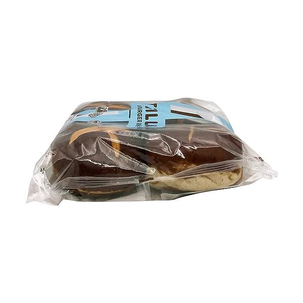 Soft Pretzel Burger Buns, 12.8 oz 4