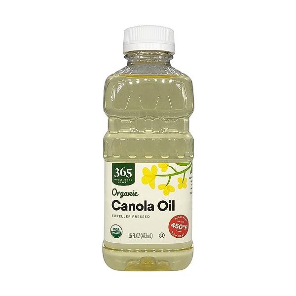 Refined Expeller Pressed Canola Oil, 16 fl oz 1