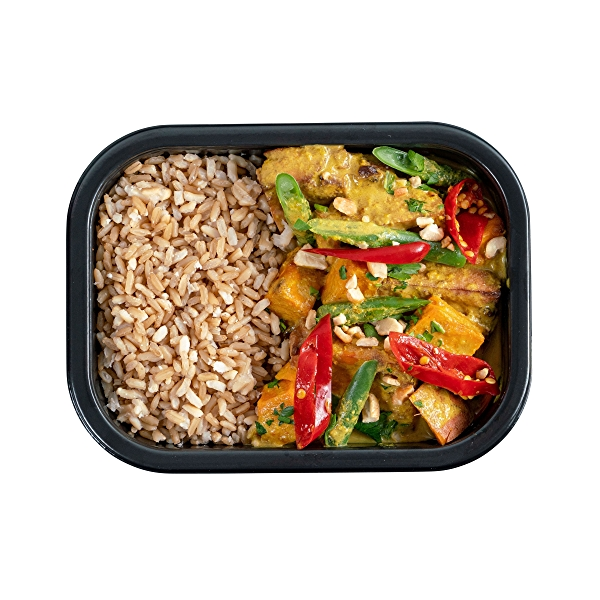 Balinese Tofu Curry with Brown Rice, 15 ounce 1