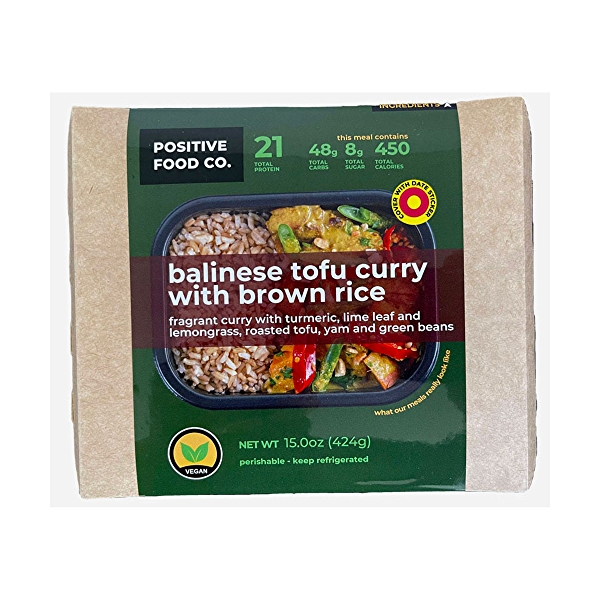 Balinese Tofu Curry with Brown Rice, 15 ounce 2