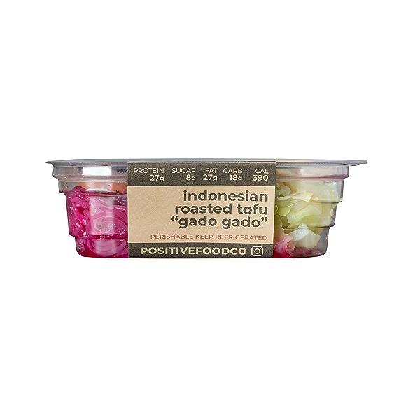 """Indonesian Roasted Tofu """"Gado Gado"""", 11.6 oz 1"""