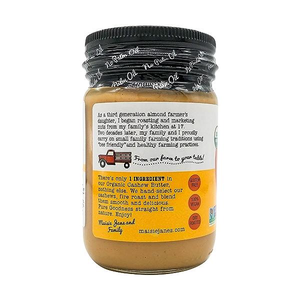 Organic Creamy Cashew Butter, 12 oz 4