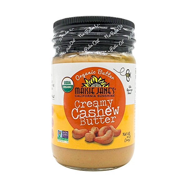 Organic Creamy Cashew Butter, 12 oz 1