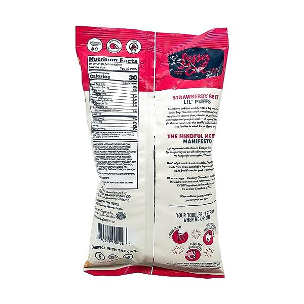 Strawberry Beet Lil Puffs, 2.5 oz 2