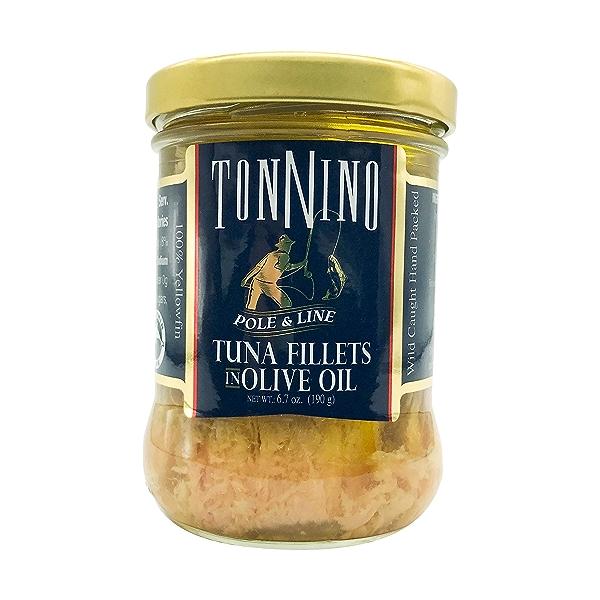 Yellowfin Tuna Fillets In Olive Oil, 6.7 oz 1