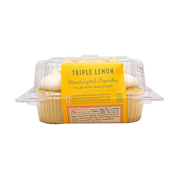 Triple Lemon Cupcakes, 10 oz 3