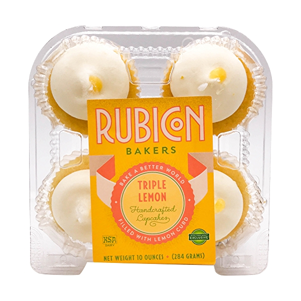 Triple Lemon Cupcakes, 10 oz 1