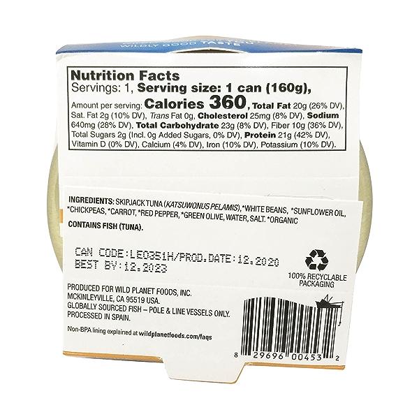 Tuna White Bean Salad, 5.6 oz 2
