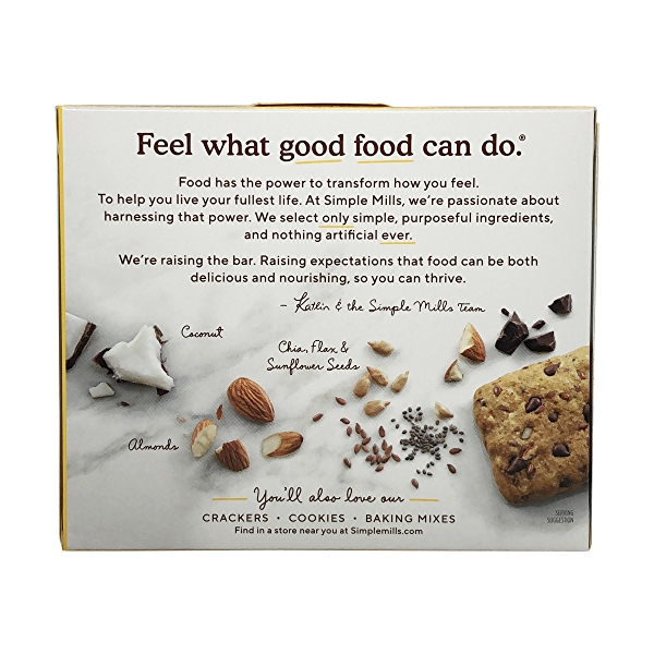 Dark Chocolate Almond Soft-baked Almond Flour Bars 5ct, 1.19 oz 3