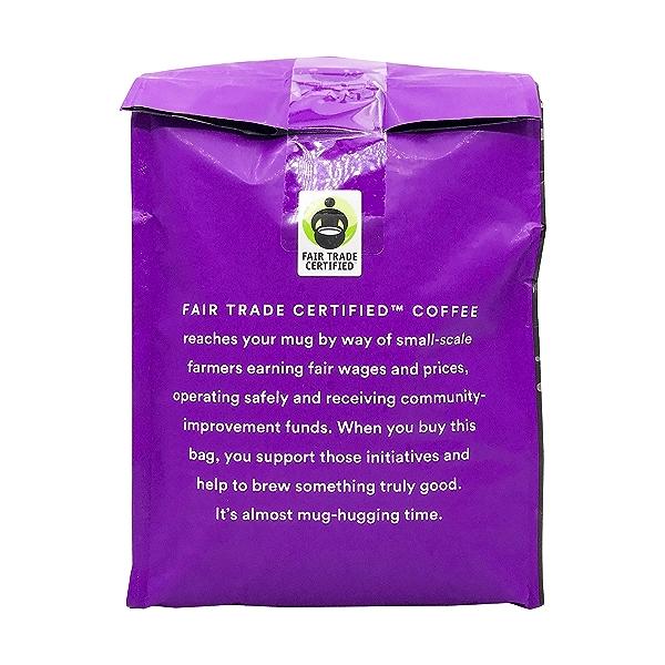 Organic Full City Roast Buzz Free Decaf Whole Bean Coffee, 24 oz 3