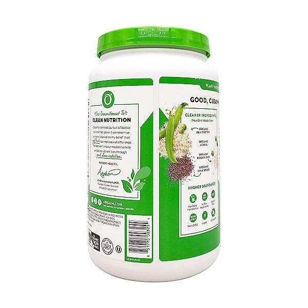 Sweet Vanilla Bean Organic Plant Based Protein Powder, 32.4 oz 5