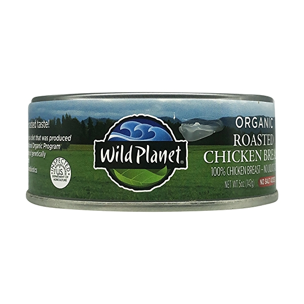 Organic Roasted Chicken Breast - No Salt Added, 5 oz 8