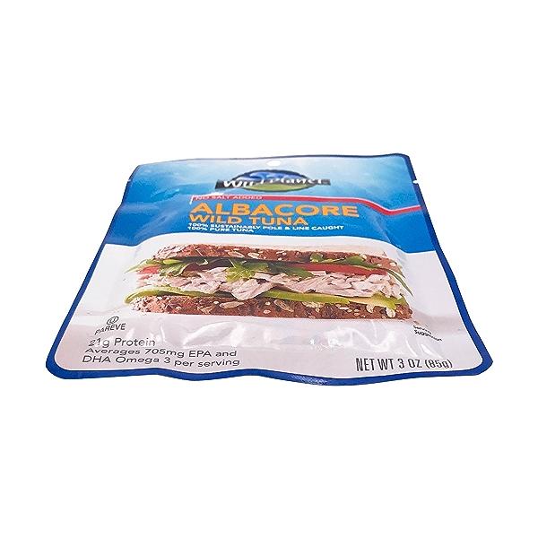Albacore Wild Tuna, 3 oz 6