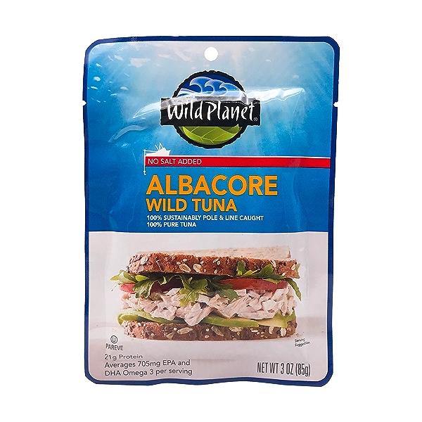 Albacore Wild Tuna, 3 oz 1
