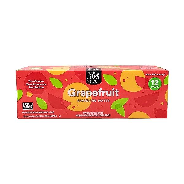 Grapefruit Sparkling Water, 12 fl oz 1