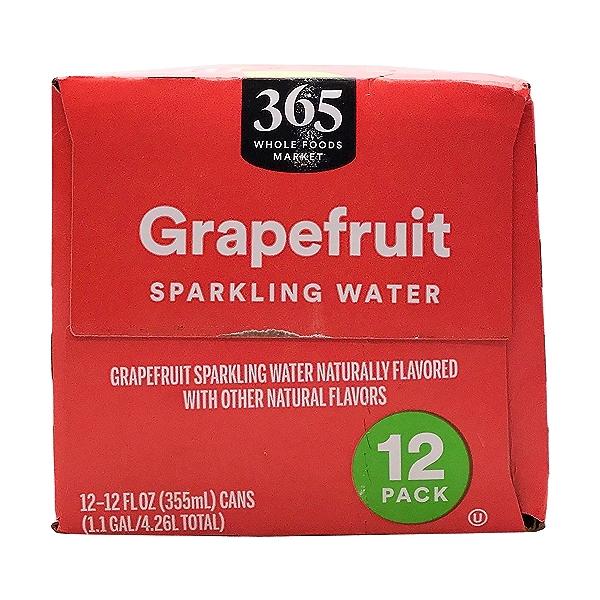 Grapefruit Sparkling Water, 12 fl oz 2