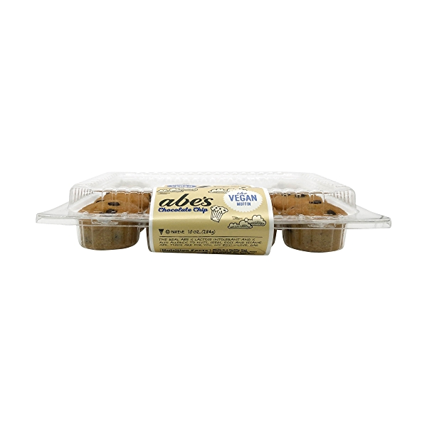 Vegan Chocolate Chip Cookie Mini Muffins (12 Pk), 10 oz 3