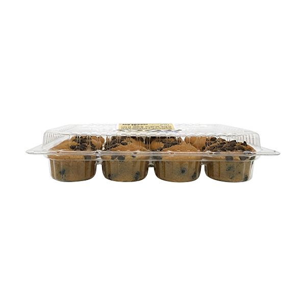 Vegan Chocolate Chip Cookie Mini Muffins (12 Pk), 10 oz 5