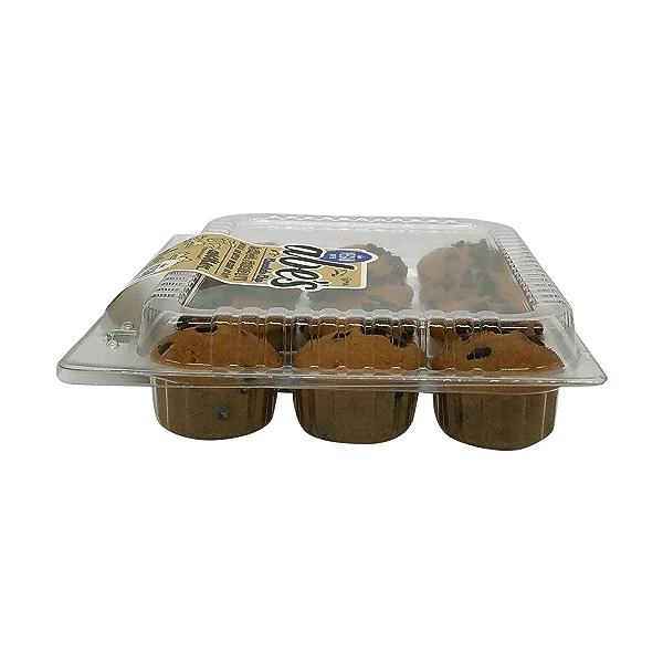 Vegan Chocolate Chip Cookie Mini Muffins (12 Pk), 10 oz 4
