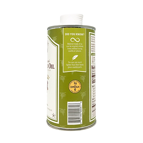 Expeller-Pressed Grapeseed Oil, 16.9 fl oz 3