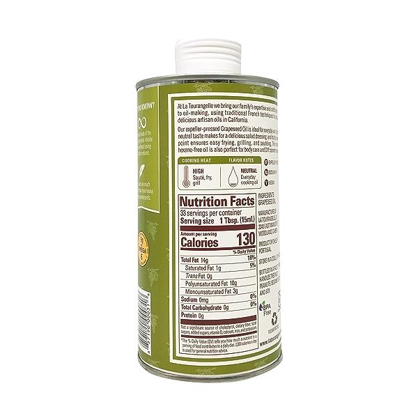 Expeller-Pressed Grapeseed Oil, 16.9 fl oz 5