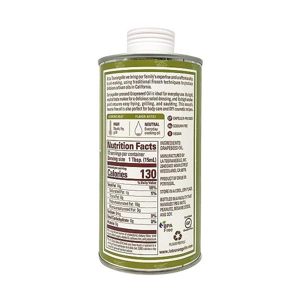 Expeller-Pressed Grapeseed Oil, 16.9 fl oz 6