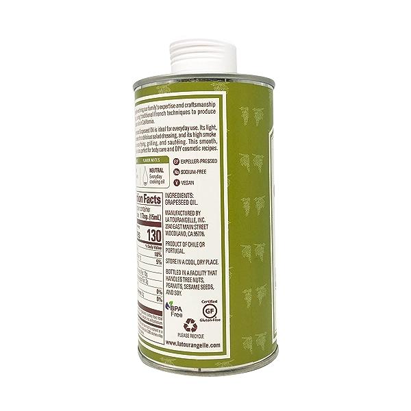 Expeller-Pressed Grapeseed Oil, 16.9 fl oz 7