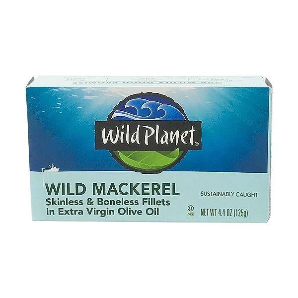Wild Mackerel Fillets 1