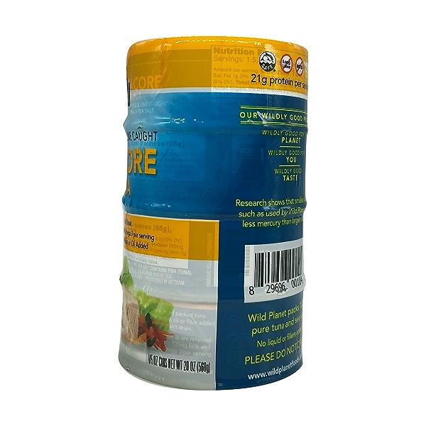 Wild Albacore Tuna 4ct, 0.8 oz cans 3
