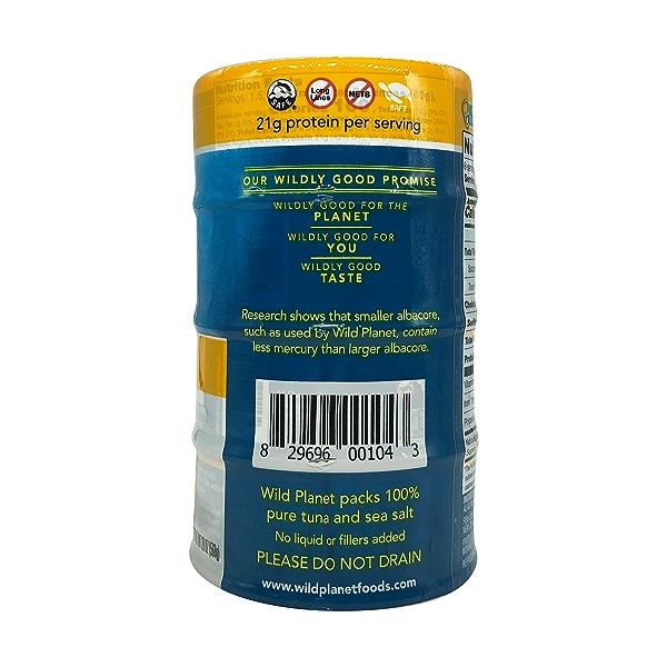 Wild Albacore Tuna 4ct, 0.8 oz cans 4