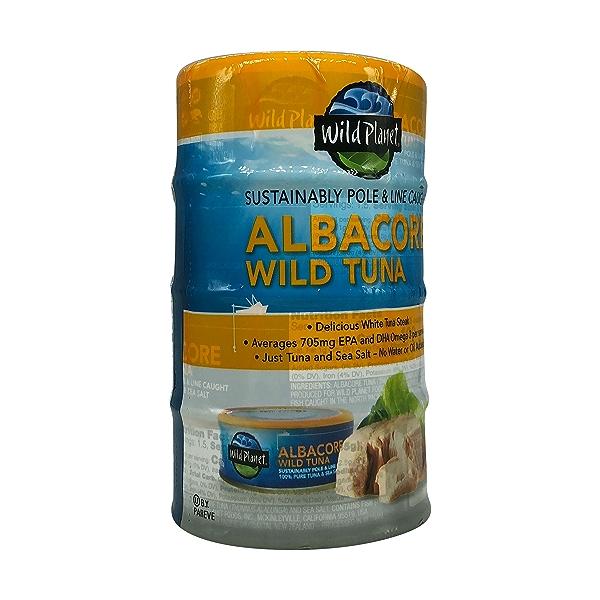 Wild Albacore Tuna 4ct, 0.8 oz cans 8