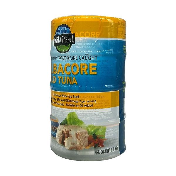 Wild Albacore Tuna 4ct, 0.8 oz cans 2