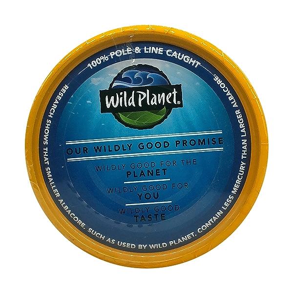 Wild Albacore Tuna 4ct, 0.8 oz cans 9