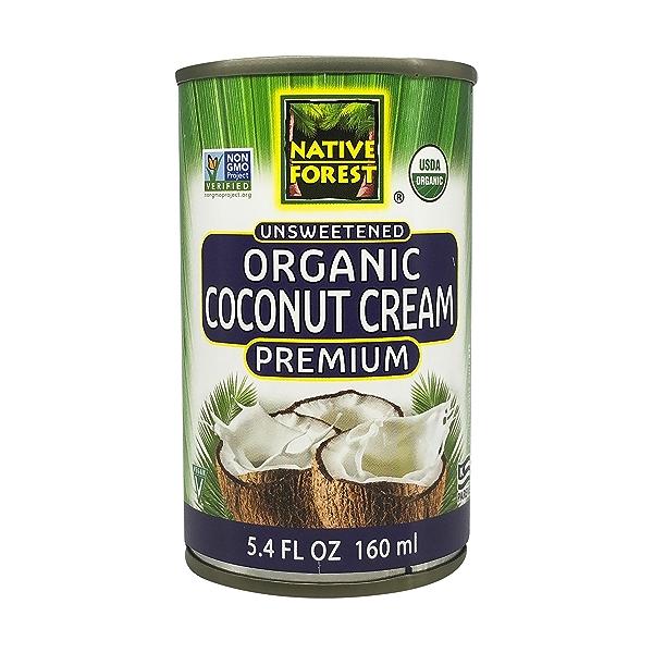 Unsweetened Organic  Coconut Cream, 5.4 fl oz 1