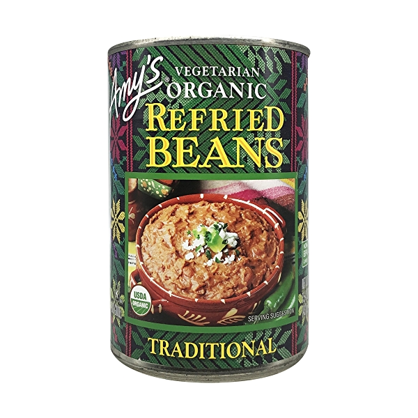 Organic Traditional Refried Beans, 15.4 oz 1