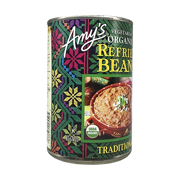 Organic Traditional Refried Beans, 15.4 oz 8