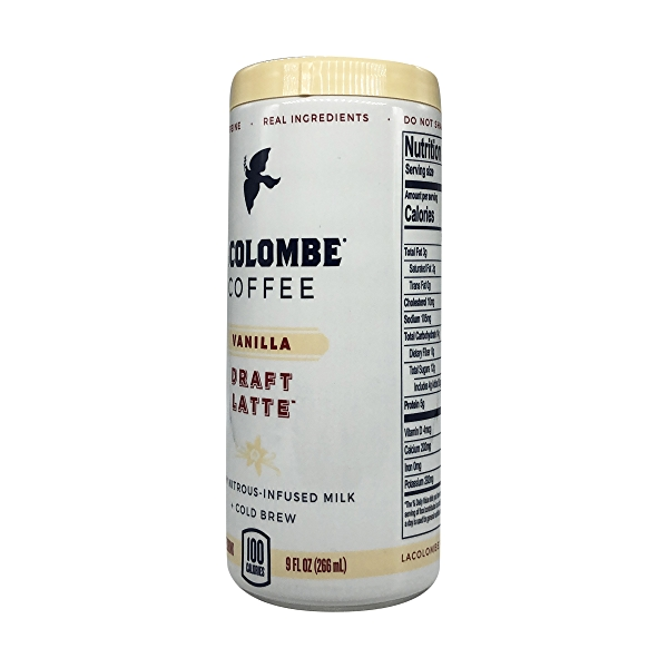 Vanilla Draft Latte, 9 fl oz 2
