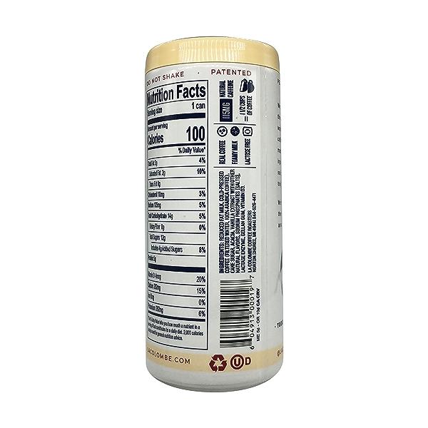 Vanilla Draft Latte, 9 fl oz 4