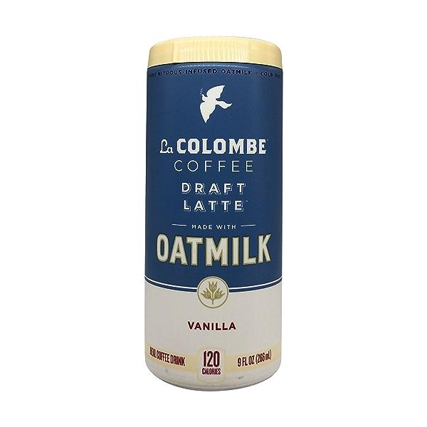Vanilla Oat Milk Draft Latte, 9 fl oz 1