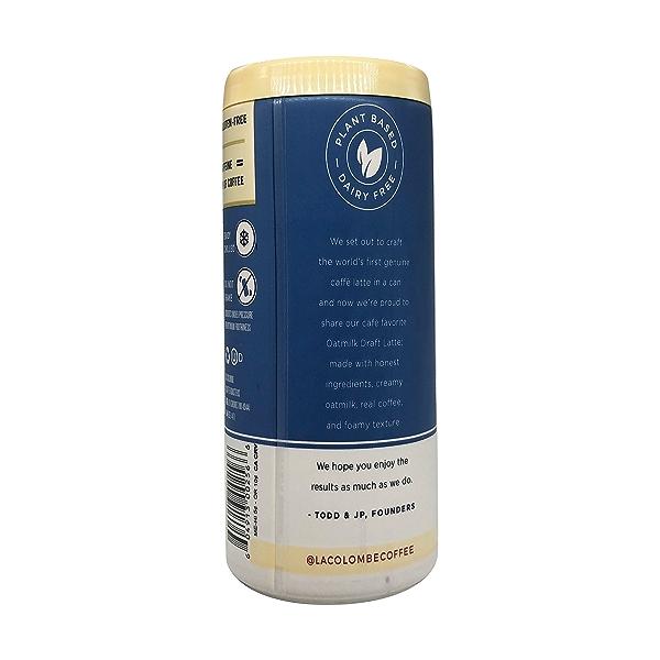 Vanilla Oat Milk Draft Latte, 9 fl oz 6