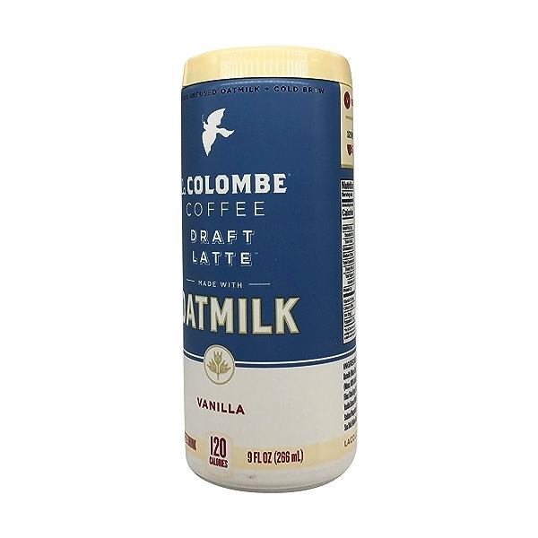 Vanilla Oat Milk Draft Latte, 9 fl oz 2