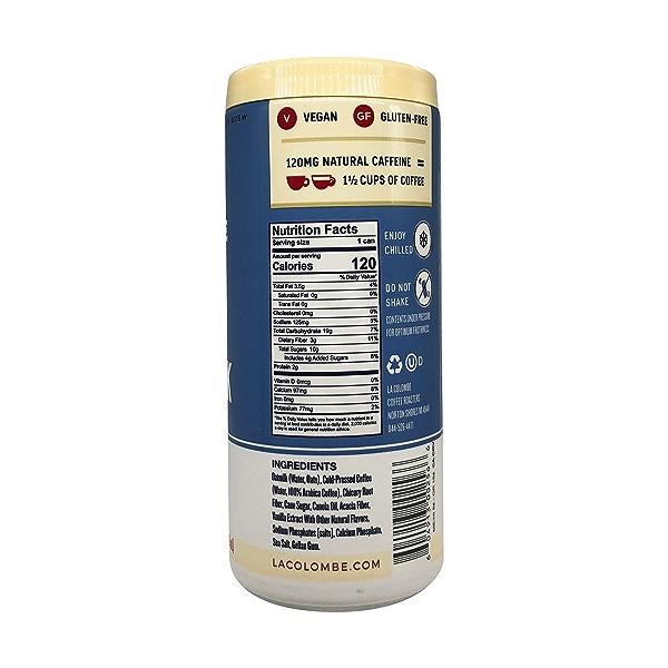 Vanilla Oat Milk Draft Latte, 9 fl oz 4