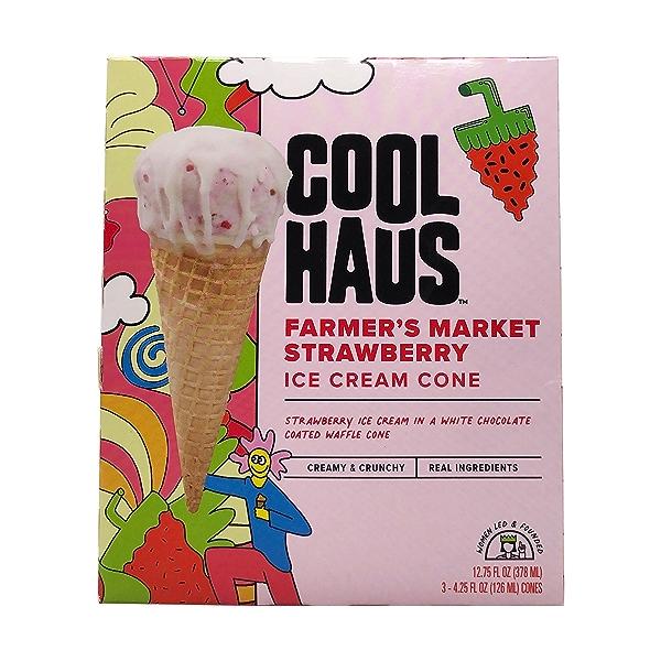 Strawberry Ice Cream Cones, 12.75 fl oz 3