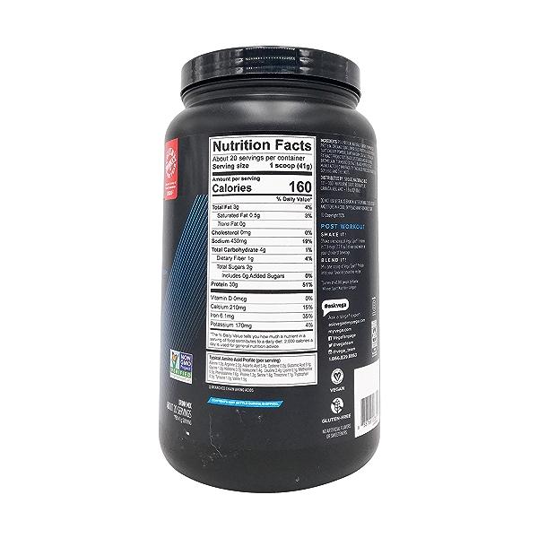 Vanilla Flavor Sport Performance Protein, 29.2 oz 3