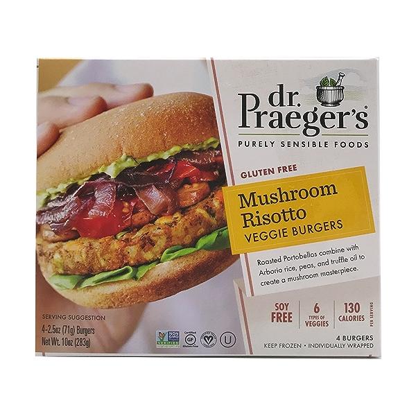 Risotto Veggie Burgers, 2.5 oz 1