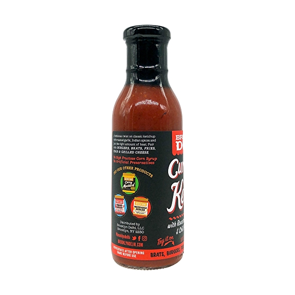 Curry Ketchup, 13 oz 7