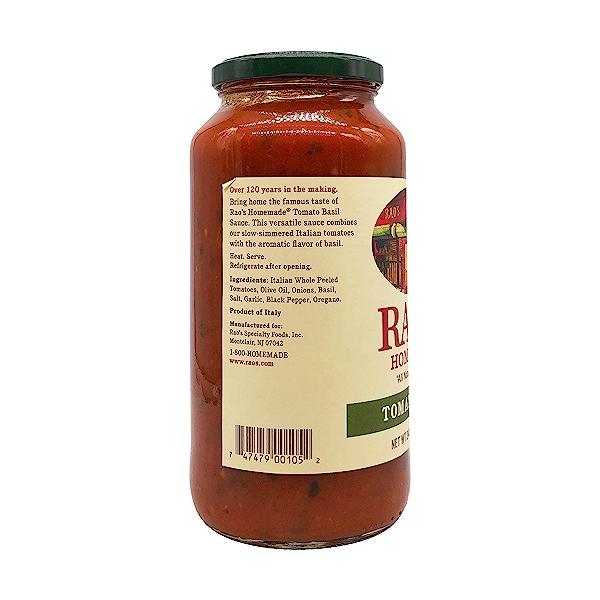 Rao's Specialty Foods Tomato Basil Sauce, 24 oz 7