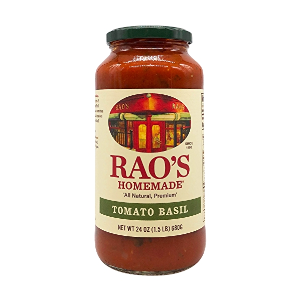 Rao's Specialty Foods Tomato Basil Sauce, 24 oz 1