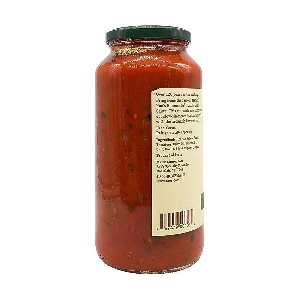 Rao's Specialty Foods Tomato Basil Sauce, 24 oz 6